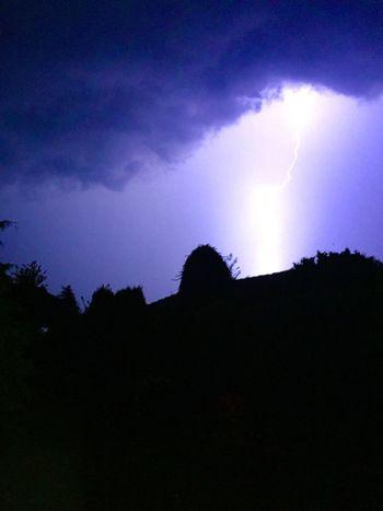 Nature Blitz Blitze Gewitter Gewitter ⚡️ Gewitterstimmung