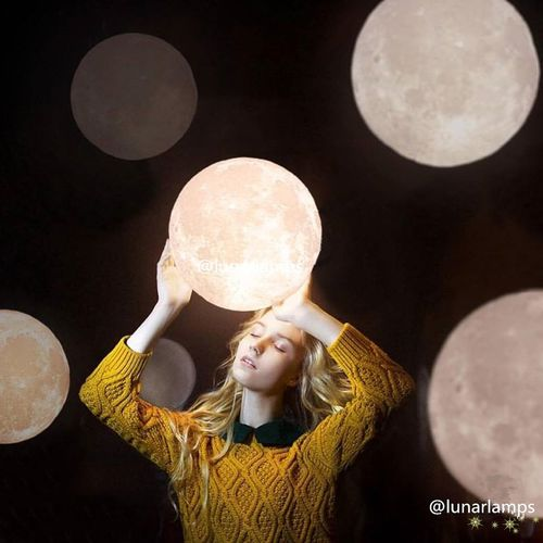 my moon Beautiful Woman Indoors  Day Funny Moon Home Interior Gifts ❤ Loveu Love Lovers Moonlover