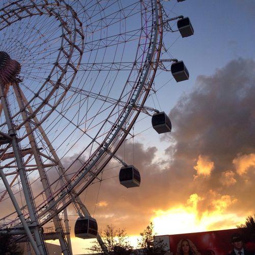 Ferris Wheel Orlando Tourism Orlandoeye Big Wheel Gopro