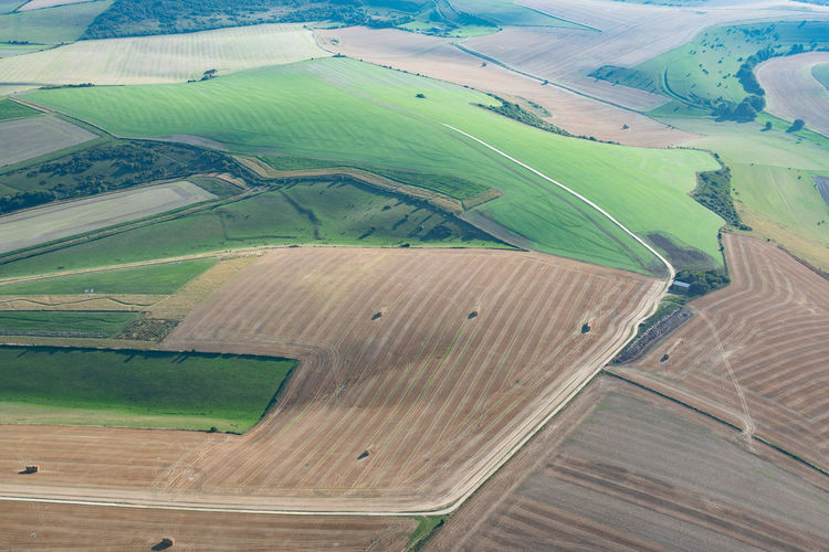 The south downs from the air Landscape Environment Scenics - Nature Agriculture Aerial View Tranquil Scene Rural Scene Land Tranquility Beauty In Nature Field Day No People Patchwork Landscape Non-urban Scene Farm Nature Idyllic Outdoors Rolling Landscape