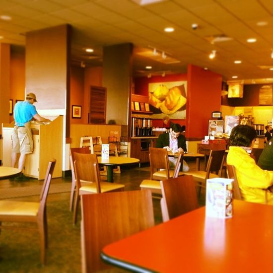 Breakfast @ Panerabread Cafe Coffehouse restaurant columbiamo