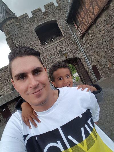 Castle Cochem Mosel Father & Son Fatherandson Fatherhood  Singledad Enjoying Life Having Fun :)