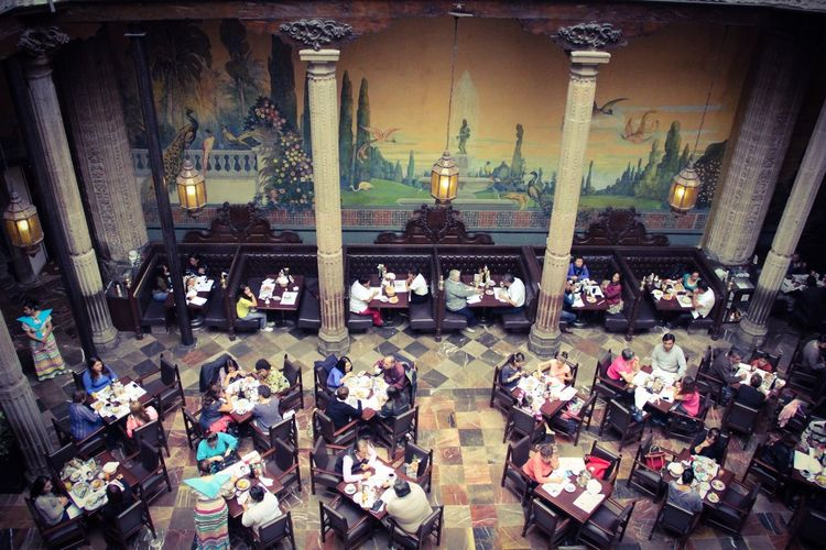 A classic morning breakfast. Downtown Mexico City Sanborns Azulejos Visiting My City
