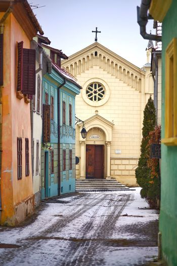 Winter in Sighisoara Romania Transylvania Sighisoara TravelDestinations Travel Architecture Built Structure Building Exterior Outdoors Day No People first eyeem photo