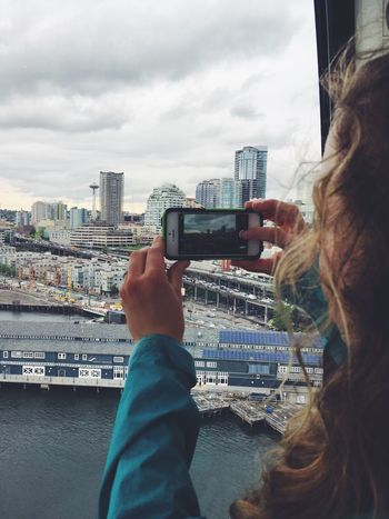 Smart Phone Mobile Phone City