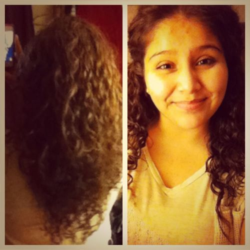 MY NEW CURLY HAIR!!