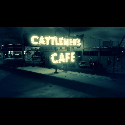 Neon Cattlemen's Cafe Sign First Eyeem Photo