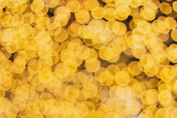 Full Frame Shot Of Illuminated Defocused Lights