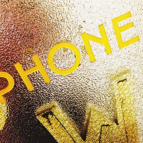 Payphone Paris Cafe Le Marais Yellow Glass Door Khris