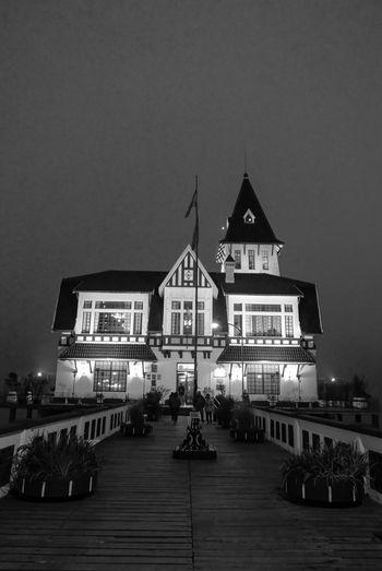 Club de Pescadores. EyeEmNewHere EyeEm Best Shots Popckorn Club Architecture Built Structure Building Exterior Building Sky City Religion Night Illuminated