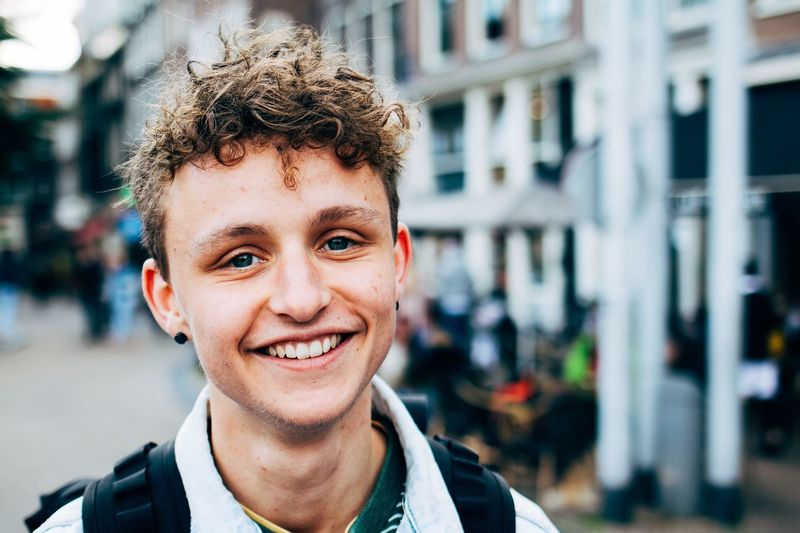 N Portrait Smiling Headshot One Person Looking At Camera Happiness Males  Men Front View Focus On Foreground Real People Boys Day Architecture