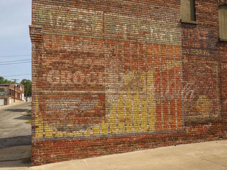 GROCERY GHOSTS ~ Saint Joseph, Missouri ~ Ghost Signs  Landscape Dreamscapes Divelandscape, Divestreetoghrophy, Cityscape, Vintage Signs
