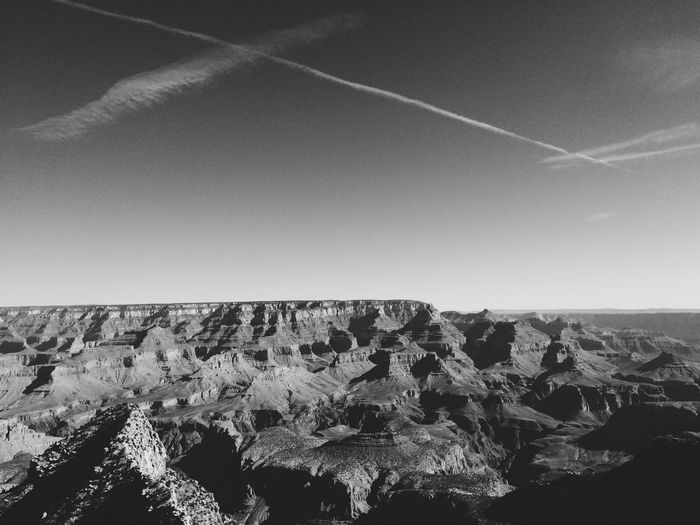 Arid Climate Barren Clear Sky Cliff Copy Space Desert Geology Grandcanyon Majestic Physical Geography Power In Nature Remote Rock Rock - Object Rock Formation Rocky Rough Sand Weather