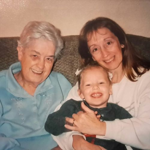 What I Cherish Family❤ My Daughter ❤️ With My Mommy❤ ❤ My GrandMother ❤ God Is Great. I Miss My Grandma Bless Her Heart ❤ R.I.P. Grandmother  Best Mom Ever
