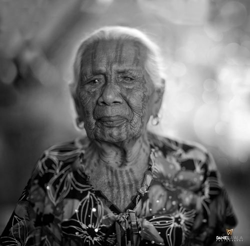 EyeEmNewHere One Person Looking At Camera Bodytattoo Grandmother Portrait