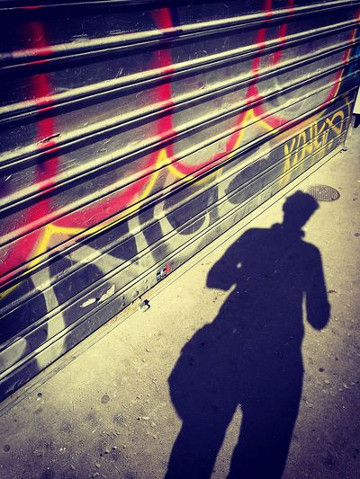 A Shadow in Paris First Eyeem Photo