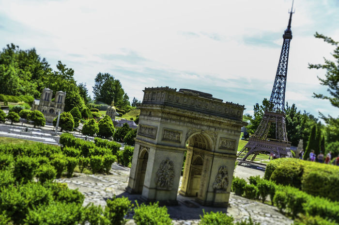 Architecture Built Structure Eiffel Tower Jardin Monument Monuments Notre Dame De Paris Outdoors Parc Paris Paris, France  Park Sky Tourism Travel Triumph Arch