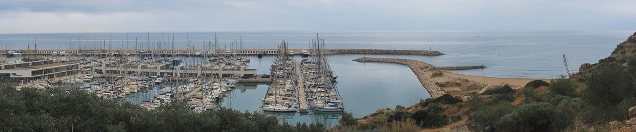 Port Gineste - Castelldefels - Catalunya_1 Bridge - Man Made Structure Cityscape Day Horizon Over Water Nature Nautical Vessel No People Outdoors Sea Sky Tourism Travel Travel Destinations Vacations Water