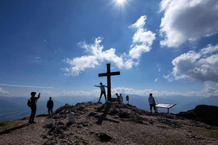 At the top of the world. Salzburg Belong Anywhere