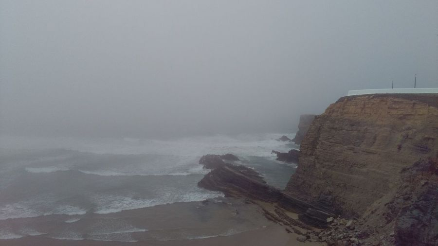 Zambujeira Do Mar Sea Fog Beach Vacation First Eyeem Photo