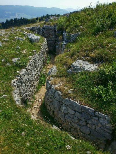 Asiago Highland, Vicenza, Italy Travel Traveling Italy Asiago Photography Art Fineart Wwi Military Installations Trenches