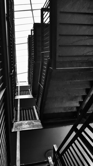 Built Structure Steps And Staircases Staircase Architecture Railing Indoors  Steps Spiral No People Spiral Staircase Day Architecture Photography Architecture_collection Architecture_bw Arts Culture And Entertainment Black&white Urbanphotography Urban Exploration Darkness And Light