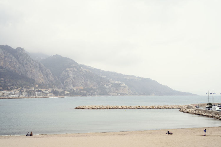 Menton beach in autumn (France) Menton, France Water Sea Land Beach Mountain Beauty In Nature Sky Scenics - Nature Nature Outdoors Vacations Mountain Range Day Sand Holiday Tranquility Tranquil Scene France Côte D'Azur Pier Foggy Morning EyeEm Best Shots EyeEm Nature Lover EyeEm Selects