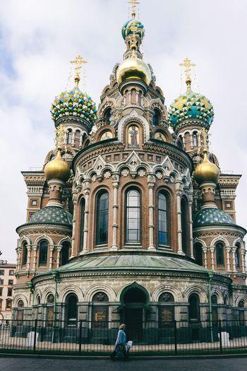 Russian Saint Petersburg Church 俄罗斯 圣彼得堡 吸血大教堂