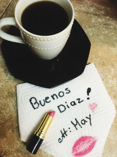 Good Morning Buenosdias Eyeemphotography Greatday Coffe ☕️💋💄