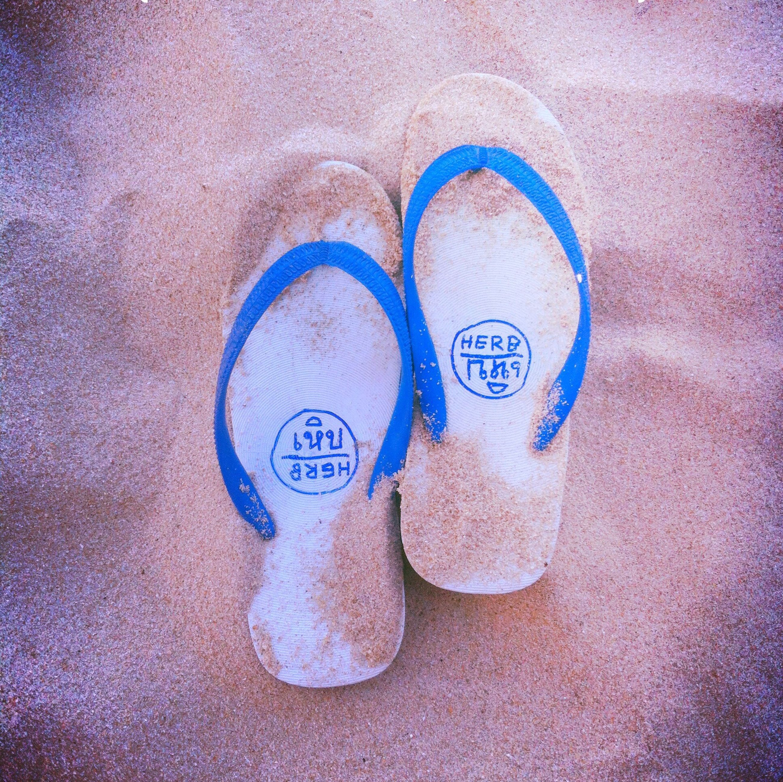 high angle view, day, sand, no people, blue, outdoors, close-up