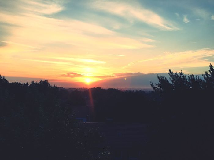 Easy Like Sunday Morning Check This Out View Sun Sunrise Morning Above Enjoying Life Woke Up Feeling Great