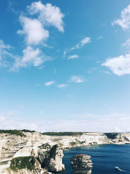 1981398504dc Bonifacio in Corsica Empty Blue Blank Space Copy Space Blank Sky Cloud Cloud  Europe Landscape Ocean