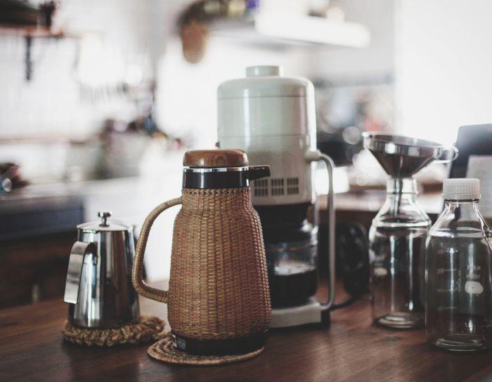 咖啡時間 Sammy's Kitchen 象印魔法瓶 Cafe Close-up Food And Drink Coffee Pot Black Coffee