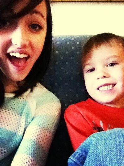 We At Grandma's, Watchin' Spongebob.✌