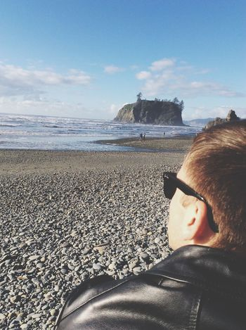 Ocean Viewg the sun] Ocean View Relaxing Enjoying Life