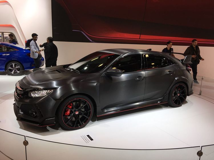 Type R Car Mode Of Transport Honda Honda Civic Black Sportscar Performance