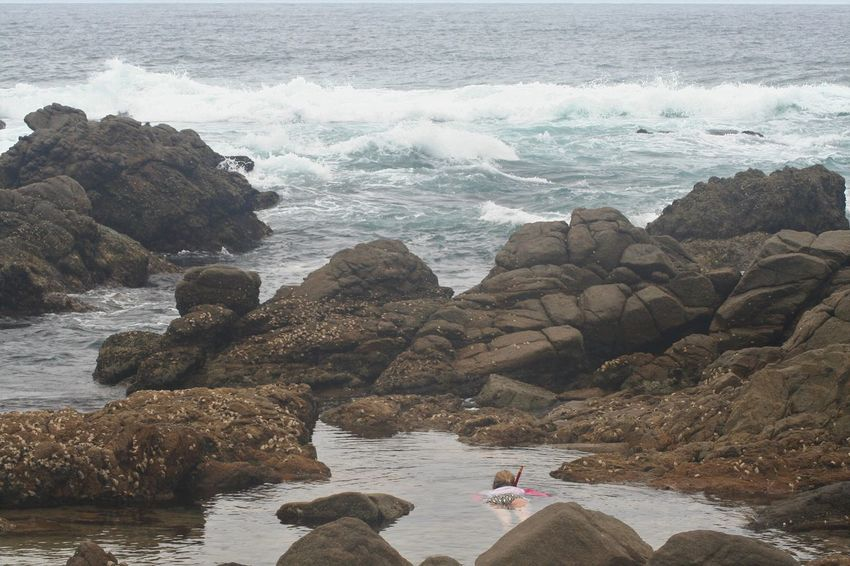 Exploring Snorkeling Beauty In Nature KwaZulu-Natal Coast Nature One Person Outdoors Rock Formation Scenics Sea Shore Tranquility Water Women