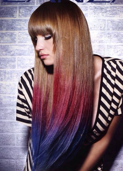 I want to do this to my hair Colorful Hair ;) Colored Hair