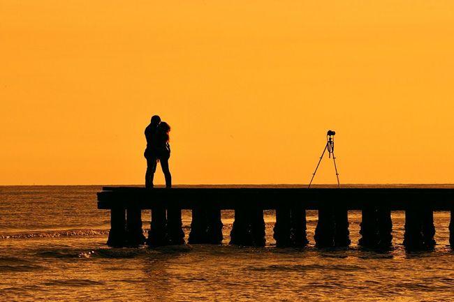 Sunset Nature Water Silhouette Orange Color Nikonphotographers Nikon Tranquility NikonD800e
