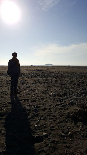 playa Low Tide Politics And Government Full Length Farmer Standing Men Agriculture Plowed Field