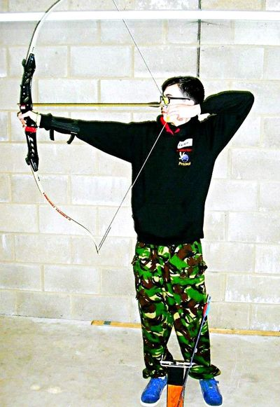 Live To Learn Archery Bow And Arrow Love Sport