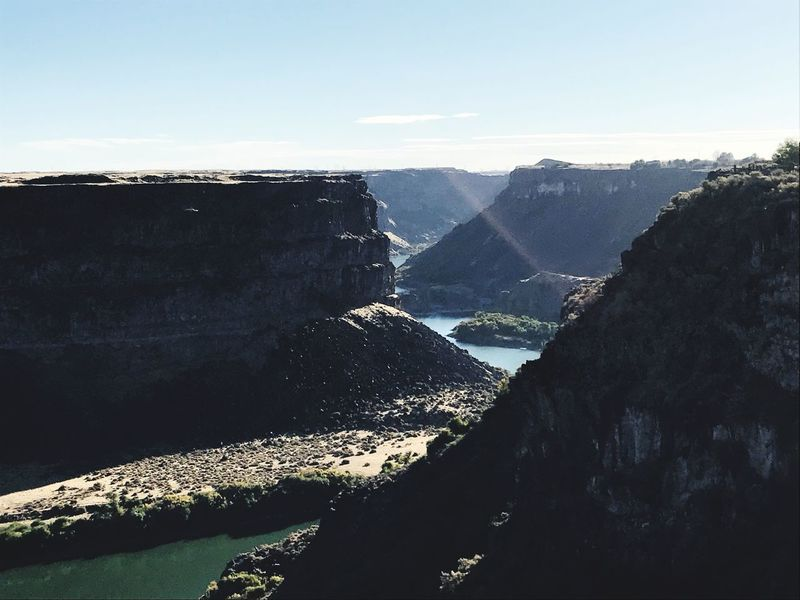 EyeEmNewHere Snake River Overlook Snake River Canyon Snake River Valley Water Sky Scenics - Nature Tranquility Beauty In Nature Tranquil Scene Nature First Eyeem Photo EyeEmNewHere