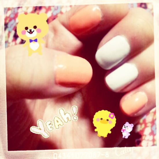 Nail Nail #love Nail #fun Nail #nailpolish #nailart #mine #orange #pink #pinklicious #candybar #holiday