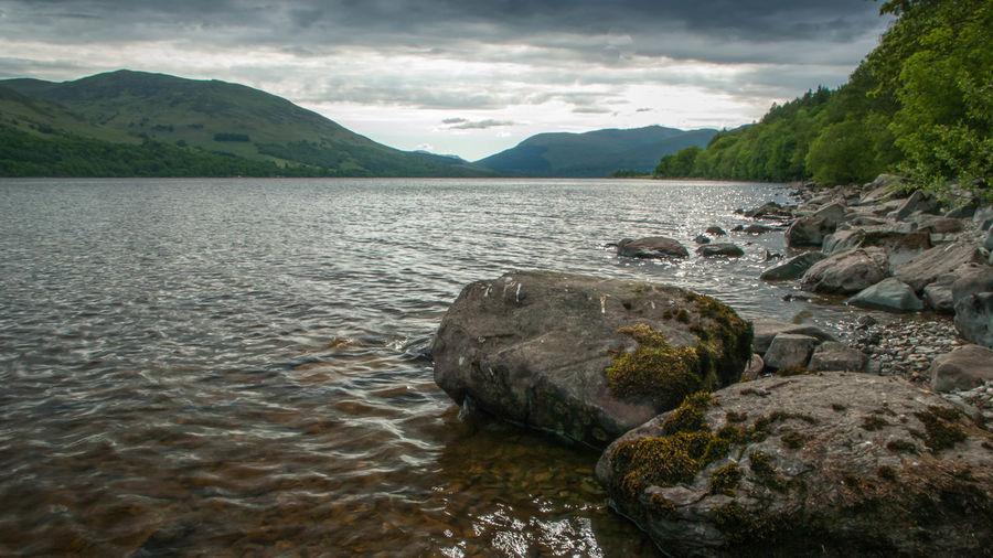 Beauty In Nature Calm Landscape Loch  Loch Earn Outdoors Tranquil Scene