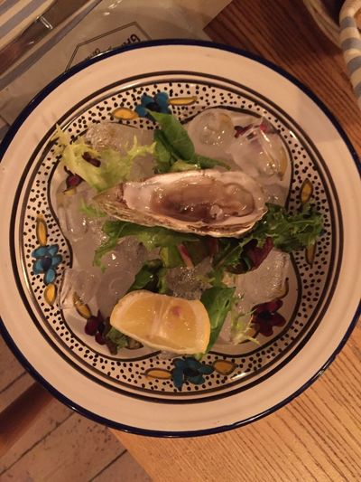 My Good Food Food For The Mind Ostriche Oyster Time