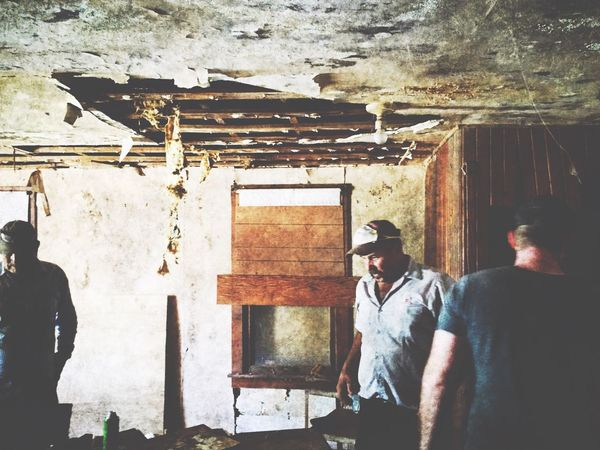 Demolition crew Demolition Abandoned Buildings Abandoned Vintage Old House IPhoneography Street Photography