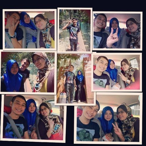Really miss with all these memories . Mama Bieyla Hangouttogether Happy gelaksakan