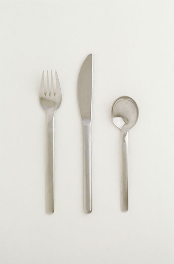Close-up of objects against white background