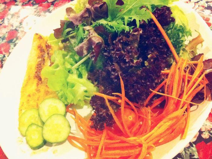 Vegetables Healthy Salad Dinner