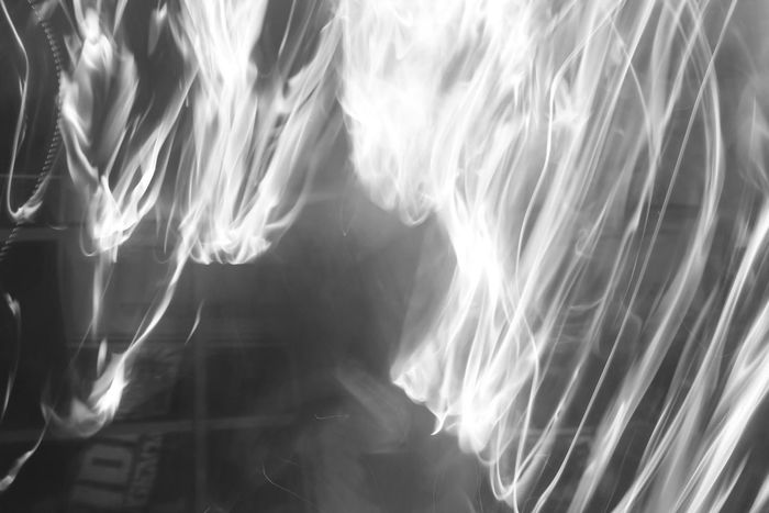 Abstract Nature Black & White Flared Gasoline Abstract Art In Nature Fire - Natural Phenomenon Flare Flarelight Spark